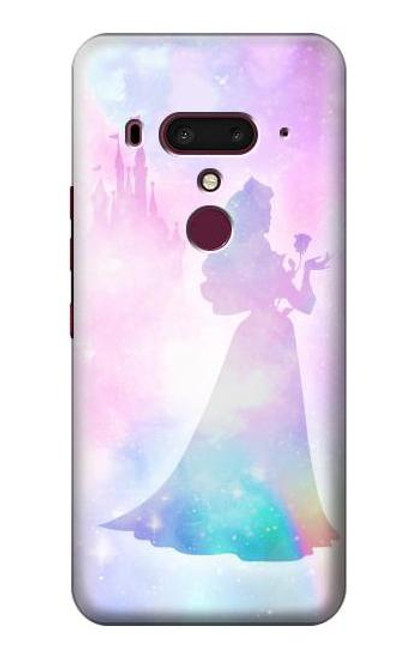 S2992 Princess Pastel Silhouette Case For HTC U12+, HTC U12 Plus
