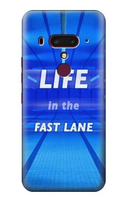 S3136 Life in the Fast Lane Swimming Pool Case For HTC U12+, HTC U12 Plus