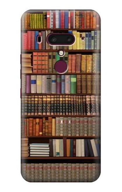 S3154 Bookshelf Case For HTC U12+, HTC U12 Plus