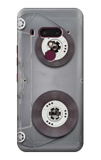 S3159 Cassette Tape Case For HTC U12+, HTC U12 Plus