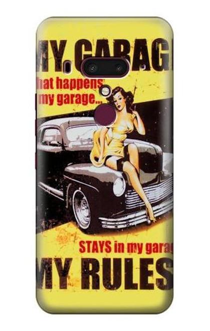 S3198 My Garage Pinup Girl Case For HTC U12+, HTC U12 Plus