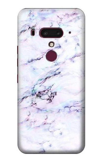 S3215 Seamless Pink Marble Case For HTC U12+, HTC U12 Plus