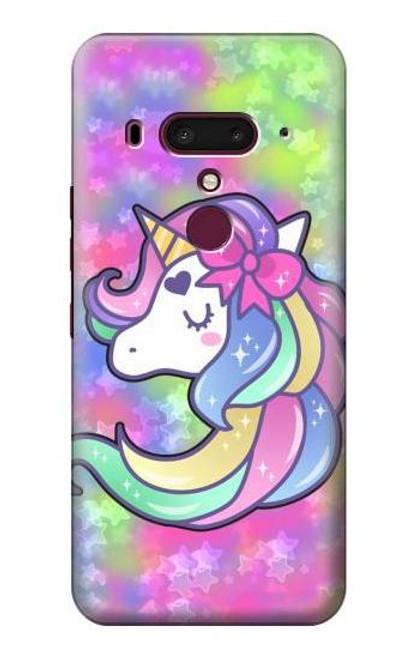 S3264 Pastel Unicorn Case For HTC U12+, HTC U12 Plus