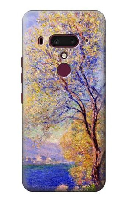 S3339 Claude Monet Antibes Seen from the Salis Gardens Case For HTC U12+, HTC U12 Plus
