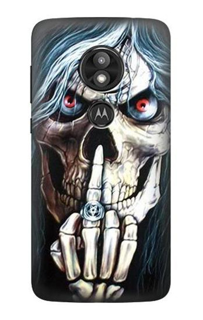 S0222 Skull Pentagram Case For Motorola Moto E Play (5th Gen.), Moto E5 Play, Moto E5 Cruise (E5 Play US Version)
