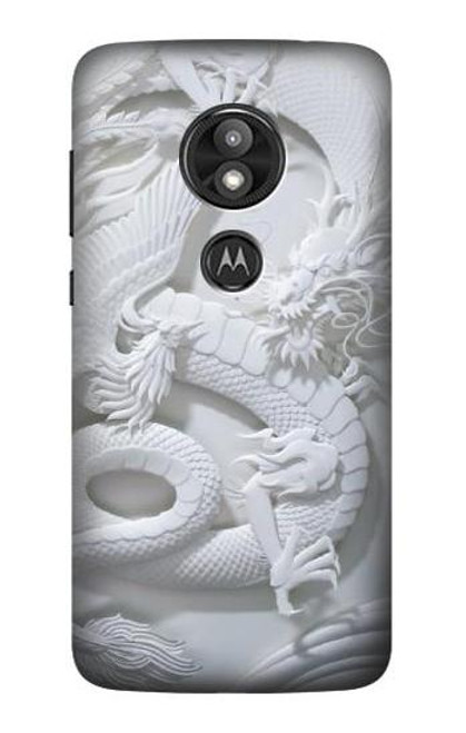 S0386 Dragon Carving Case For Motorola Moto E Play (5th Gen.), Moto E5 Play, Moto E5 Cruise (E5 Play US Version)
