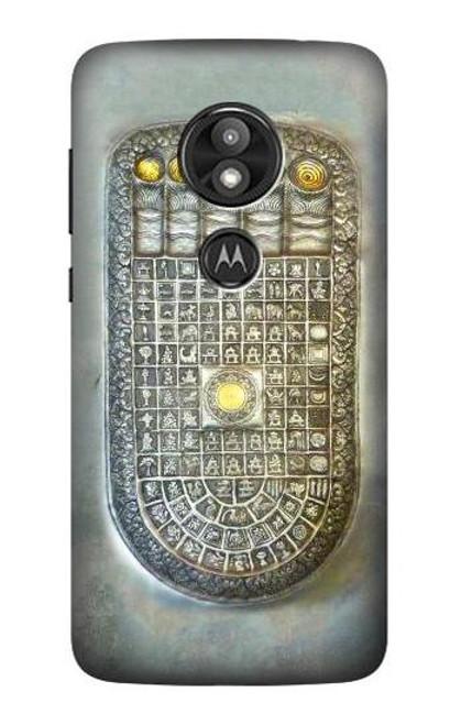 S1484 Buddha Footprint Case For Motorola Moto E Play (5th Gen.), Moto E5 Play, Moto E5 Cruise (E5 Play US Version)