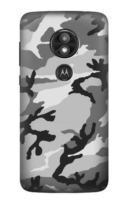 S1721 Snow Camouflage Graphic Printed Case For Motorola Moto E Play (5th Gen.), Moto E5 Play, Moto E5 Cruise (E5 Play US Version)