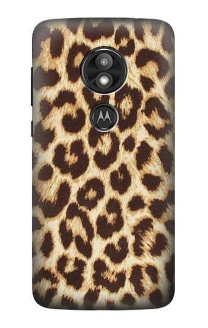 S2204 Leopard Pattern Graphic Printed Case For Motorola Moto E Play (5th Gen.), Moto E5 Play, Moto E5 Cruise (E5 Play US Version)