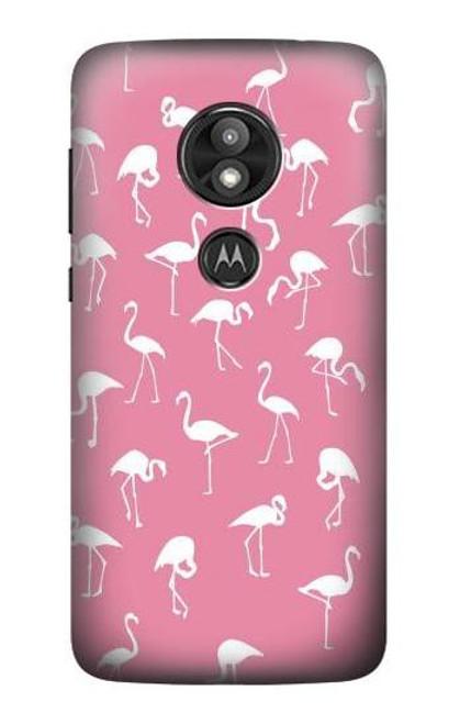 S2858 Pink Flamingo Pattern Case For Motorola Moto E Play (5th Gen.), Moto E5 Play, Moto E5 Cruise (E5 Play US Version)