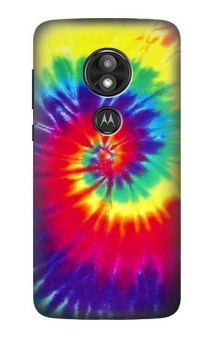 S2884 Tie Dye Swirl Color Case For Motorola Moto E Play (5th Gen.), Moto E5 Play, Moto E5 Cruise (E5 Play US Version)