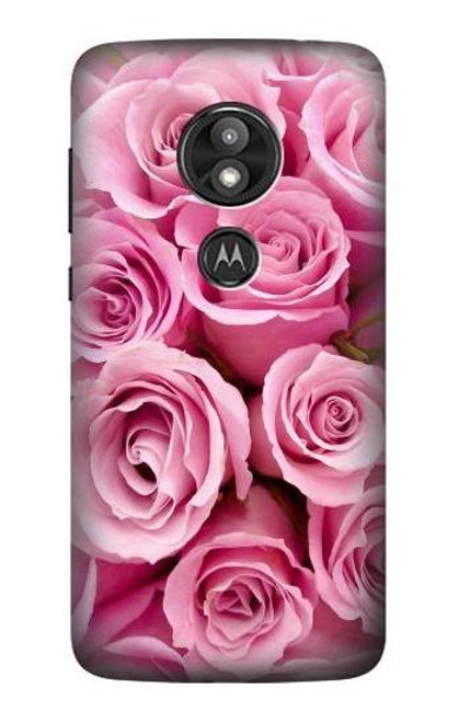 S2943 Pink Rose Case For Motorola Moto E Play (5th Gen.), Moto E5 Play, Moto E5 Cruise (E5 Play US Version)