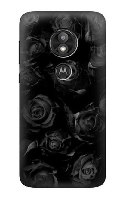 S3153 Black Roses Case For Motorola Moto E Play (5th Gen.), Moto E5 Play, Moto E5 Cruise (E5 Play US Version)