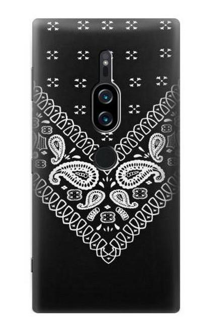 S3363 Bandana Black Pattern Case For Sony Xperia XZ2 Premium