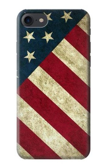 S3295 US National Flag Case For iPhone 7, iPhone 8