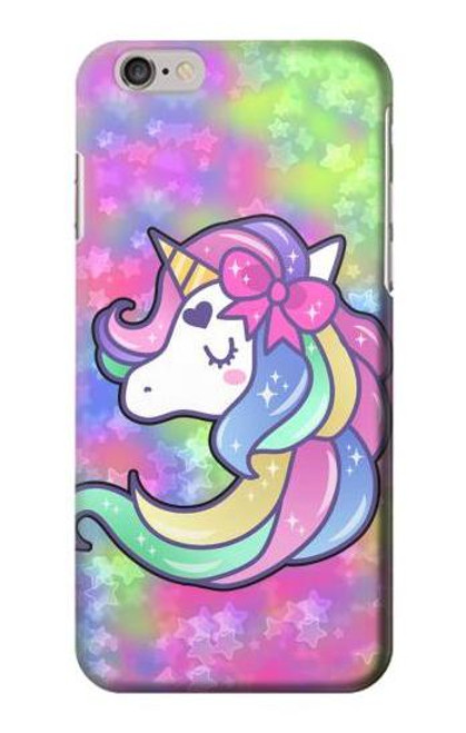 S3264 Pastel Unicorn Case For iPhone 6 6S