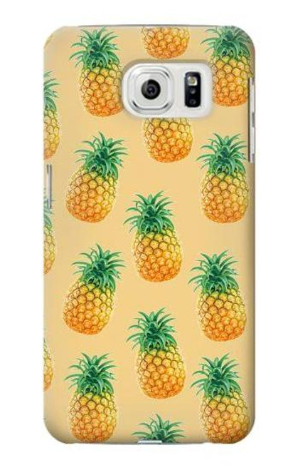 S3258 Pineapple Pattern Case For Samsung Galaxy S7 Edge