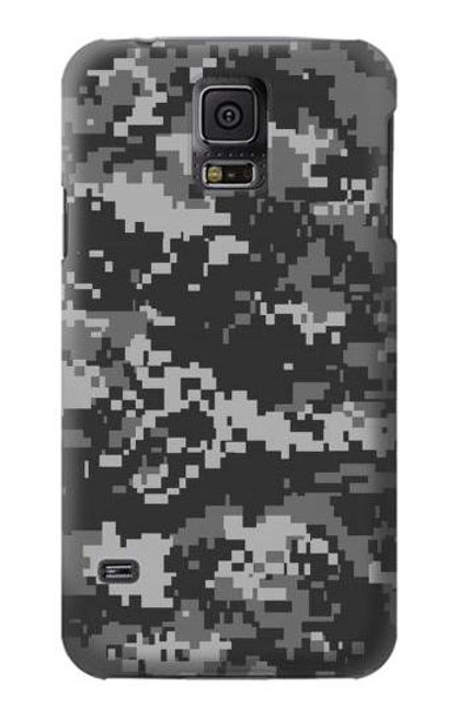 S3293 Urban Black Camo Camouflage Case For Samsung Galaxy S5 mini