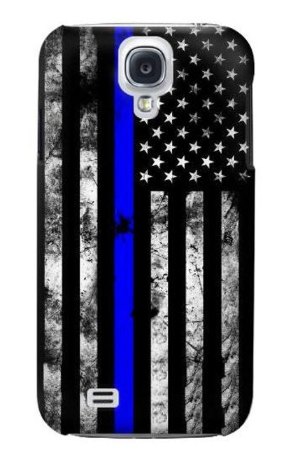 S3244 Thin Blue Line USA Case For Samsung Galaxy S4
