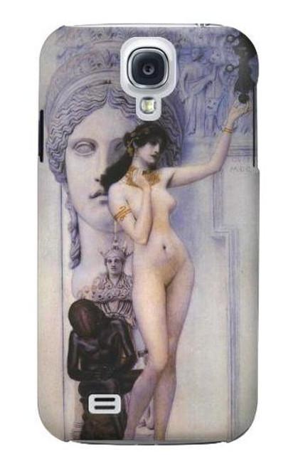 S3353 Gustav Klimt Allegory of Sculpture Case For Samsung Galaxy S4