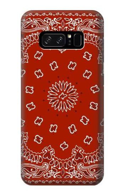 S3355 Bandana Red Pattern Case For Note 8 Samsung Galaxy Note8