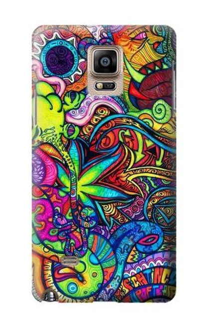 S3255 Colorful Art Pattern Case For Samsung Galaxy Note 4