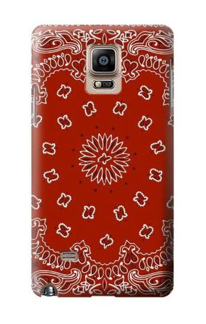 S3355 Bandana Red Pattern Case For Samsung Galaxy Note 4
