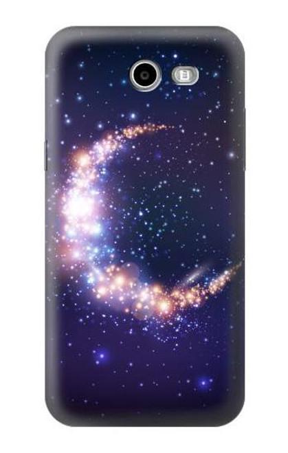S3324 Crescent Moon Galaxy Case For Samsung Galaxy J7 (2017), J7 Perx, J7V, J7 Sky Pro
