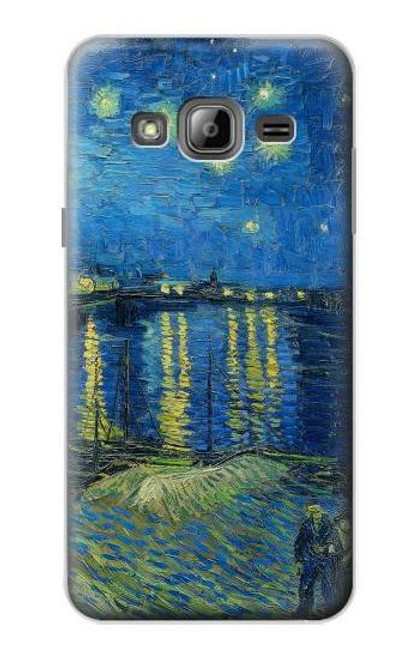 S3336 Van Gogh Starry Night Over the Rhone Case For Samsung Galaxy J3 (2016)