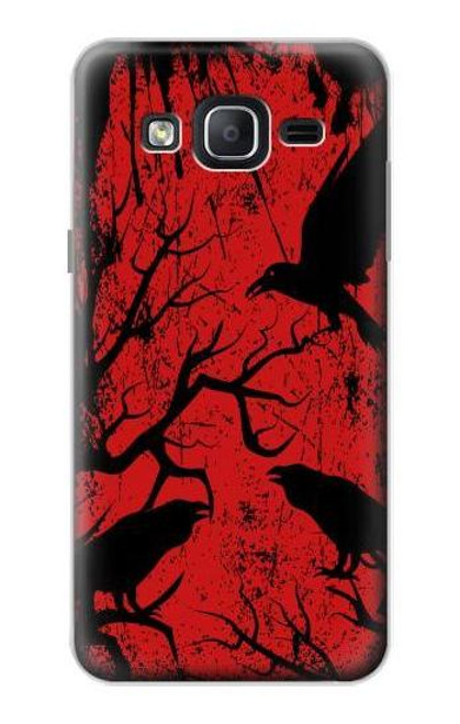 S3325 Crow Black Blood Tree Case For Samsung Galaxy On5