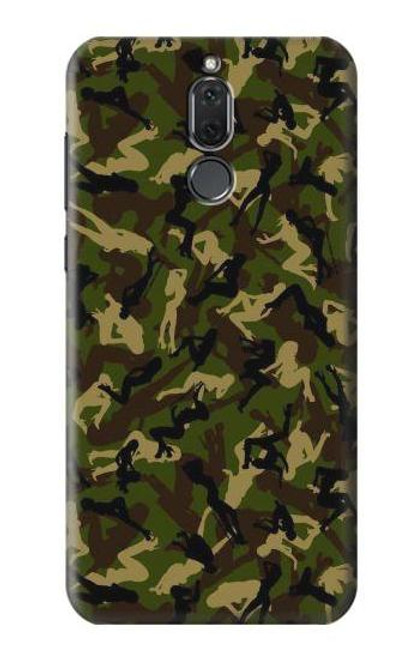 S3356 Sexy Girls Camo Camouflage Case For Huawei Mate 10 Lite