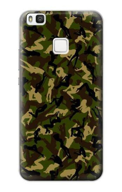S3356 Sexy Girls Camo Camouflage Case For Huawei P10 Lite