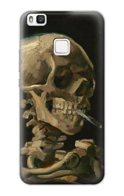 S3358 Vincent Van Gogh Skeleton Cigarette Case For Huawei P10 Lite