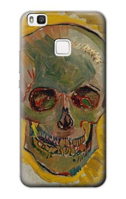 S3359 Vincent Van Gogh Skull Case For Huawei P10 Lite