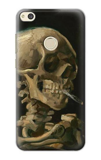 S3358 Vincent Van Gogh Skeleton Cigarette Case For Huawei P8 Lite (2017)