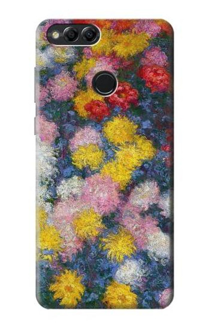 S3342 Claude Monet Chrysanthemums Case For Huawei Honor 7x, Huawei Mate SE