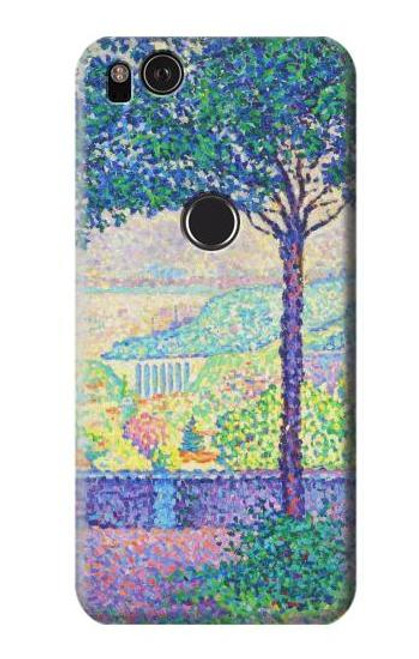 S3349 Paul Signac Terrace of Meudon Case For Google Pixel 2