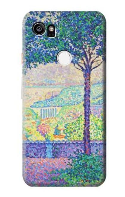 S3349 Paul Signac Terrace of Meudon Case For Google Pixel 2 XL