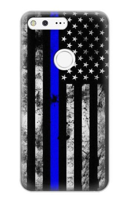 S3244 Thin Blue Line USA Case For Google Pixel XL