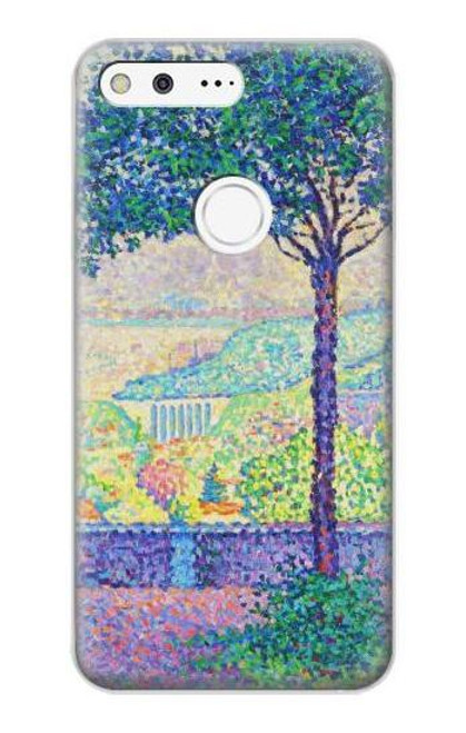 S3349 Paul Signac Terrace of Meudon Case For Google Pixel XL