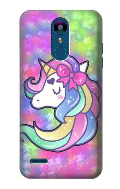 S3264 Pastel Unicorn Case For LG K8 (2018)