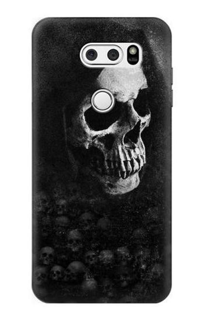 S3333 Death Skull Grim Reaper Case For LG V30, LG V30 Plus, LG V30S ThinQ, LG V35, LG V35 ThinQ
