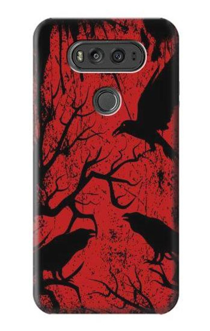 S3325 Crow Black Blood Tree Case For LG V20