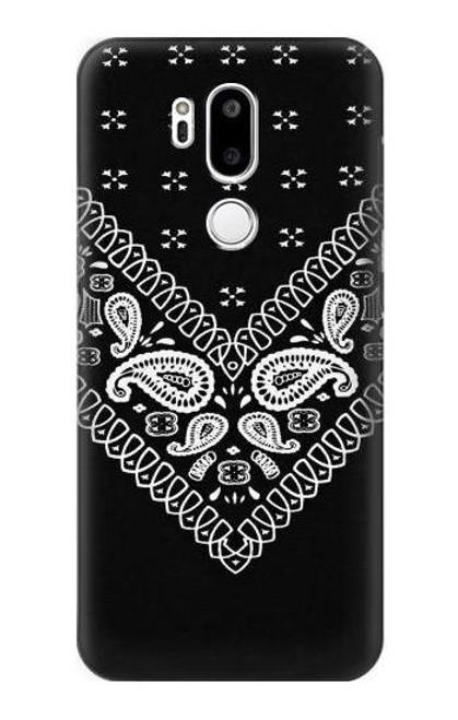 S3363 Bandana Black Pattern Case For LG G7 ThinQ