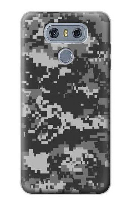 S3293 Urban Black Camo Camouflage Case For LG G6