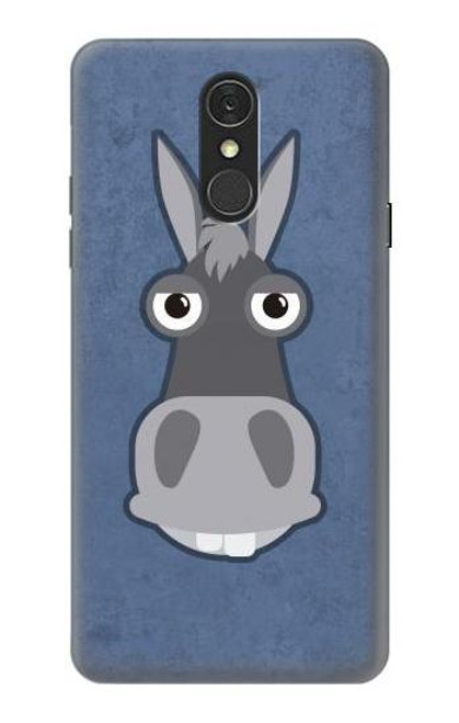 S3271 Donkey Cartoon Case For LG Q7