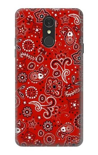 S3354 Red Classic Bandana Case For LG Q7