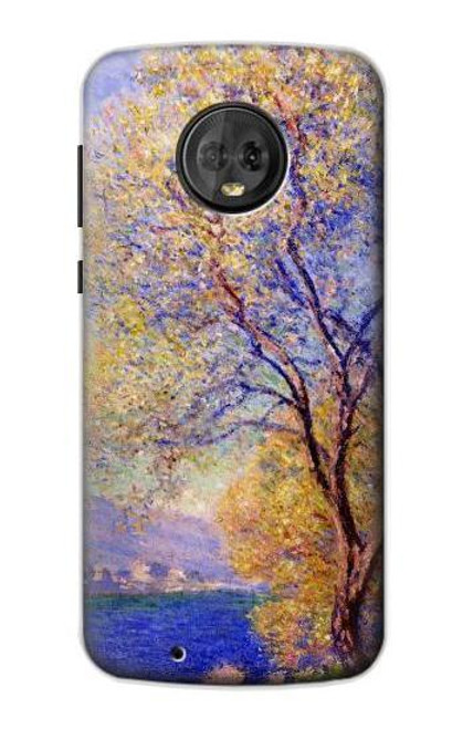 S3339 Claude Monet Antibes Seen from the Salis Gardens Case For Motorola Moto G6