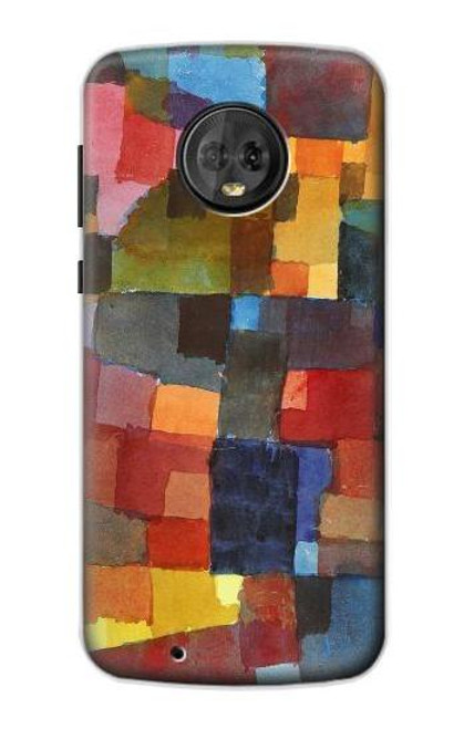 S3341 Paul Klee Raumarchitekturen Case For Motorola Moto G6