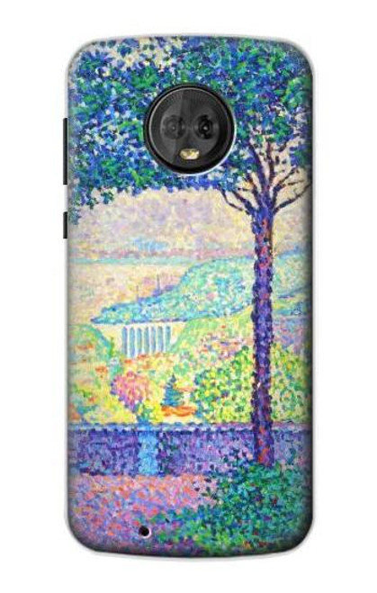 S3349 Paul Signac Terrace of Meudon Case For Motorola Moto G6